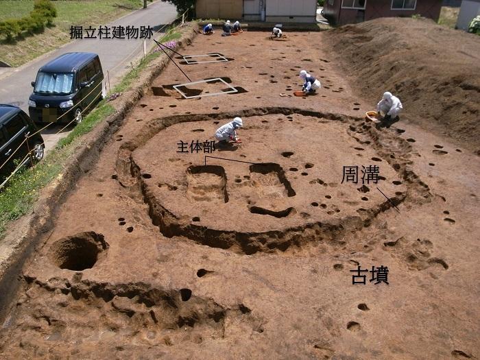 古墳 発掘